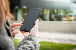 Kontakt über Smartphone